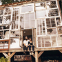 Recycled Windows Love Nest