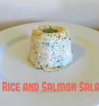 Rice Salad with Minute Ready to Serve and Chicken of the Sea Salmon (Sponsored)