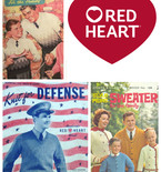 Red Heart Yarn Style, New and Old