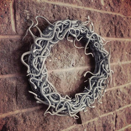 Harry Potter Door Wreath