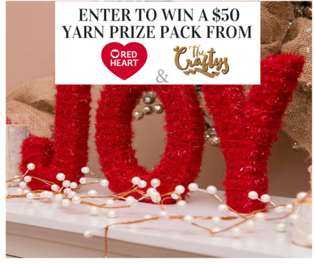 Win $50 of Red Heart Yarn