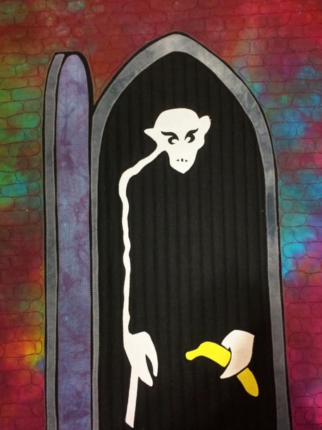 Nosferatu quilt by Frank Palmer