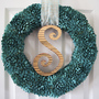 pistachio shell Christmas holiday wreath