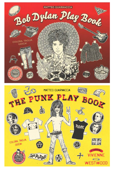 Win the Bob Dylan and Punk Rock Coloring Books by Matteo ...