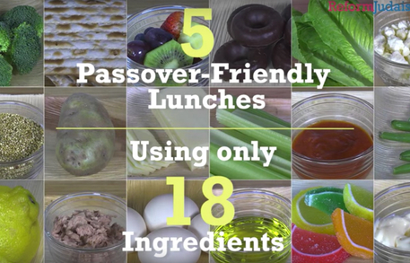 passover lunch tips