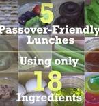 5 Passover Friendly Lunches