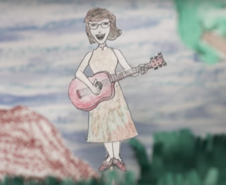 Lisa Loeb music video The Sky is Always Blue