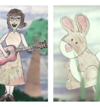The First Look at Lisa Loeb's Hand-Drawn New Video 'The Sky Is Always Blue'