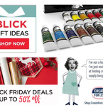 Cyber Monday Crafty Deals
