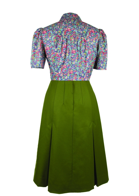 1940s style retro vintage skirt pattern