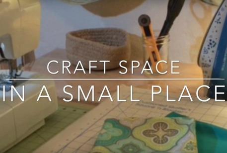 crafts room makeover