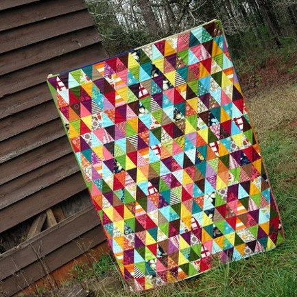 Quilting with Triangles — 5 Patterns to Try