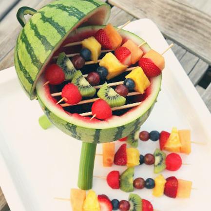 Make a Watermelon Grill