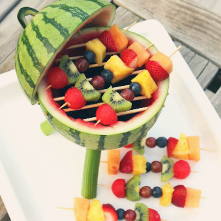 Make a Watermelon Grill
