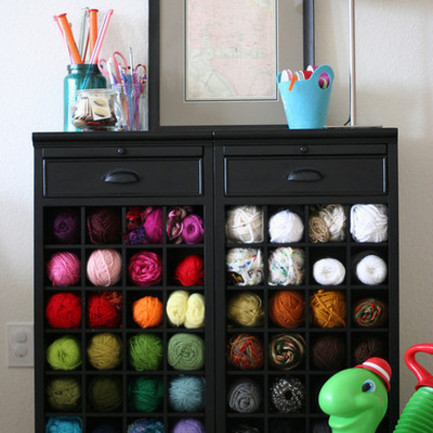 Clever Yarn Storage Ideas