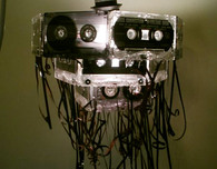 Cassette Tape Chandelier (Upcycling Inspiration)