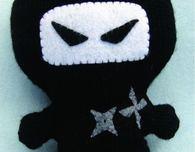 Ninja Amigurumi (Free Knitting Pattern)