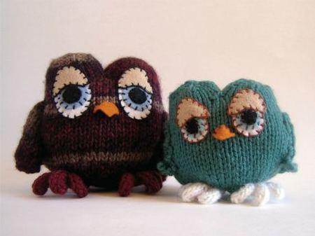 Free Knitted Amigurumi : Owl amigurumi free knitting pattern craftfoxes