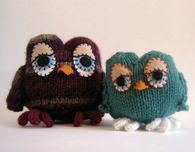 Owl Amigurumi (Free Knitting Pattern)