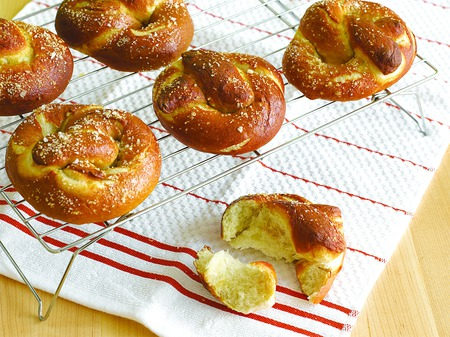 Make Your Own Soft Pretzels
