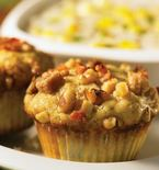 Pear, Walnut and Bacon Muffins