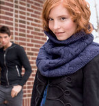 How to Make a Knit Cowl - Vampire Style (Free Knitting Pattern)