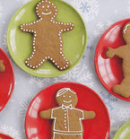 Gingerbread Men and Women — The Holidays' Welcome Partiers