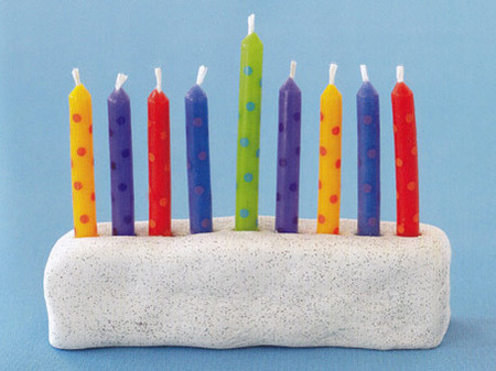 Sculpt a Menorah Out of Paperclay