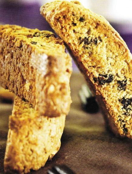 Licorice Lover's Vegan Almond Biscotti