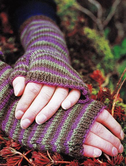 Fingerless Gloves Free Knitting Pattern Craftfoxes