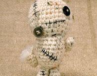 Crochet Zombiebot Amigurumi (Free Pattern)