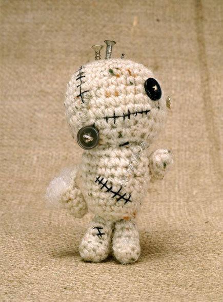 Crochet Zombiebot Amigurumi Free Pattern Craftfoxes