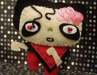 Michael Jackson 'Thriller' Zombie Feltie