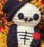 Day of the Dead Fellow (Free Amigurumi Pattern)