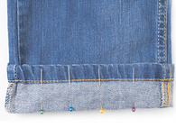 Sewing a French Hem for Jeans and Pants