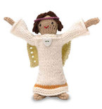 Knitted Angel Doll (Free Pattern)