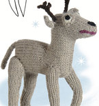 Knitted Reindeer Toy Doll (Free Pattern)