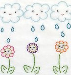 April Showers Quilt Block