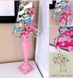Flirty Lamp Upcycle