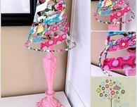 Flirty Lamp Upcycle