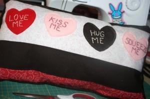 Valentine Quote Pillow