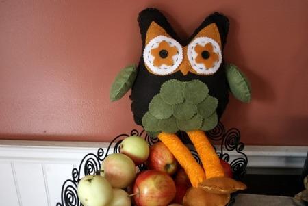 Owl Plushie Doll by SewTara.com