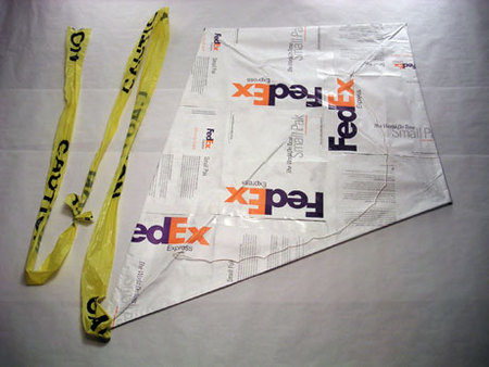 Fed Ex Diamond Kite