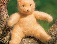Wool Teddy Bear (Needle-Felted)