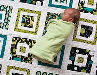Quilt for Baby Boy ('Boys Will Be Boys' Quilt)