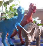 Dinosaur Toy Planter