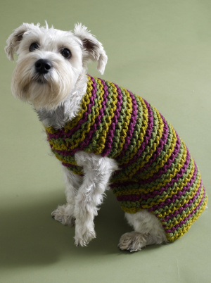 FREE PATTERNS KNIT CROCHET DOG SWEATERS | Original Patterns