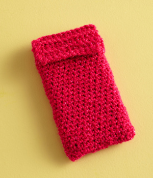 iPhone or iPod Cover or Cozy (Free Crochet Pattern)