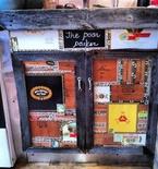 Cigar Box Cabinet Facelift