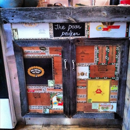 Cigar Box Cabinet Facelift